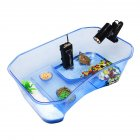 Turtle tank turtle breeding box blue