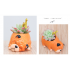 Resin Sleeping Pet Design Flowerpot Lovely Animal Shaped Succulent Plant Pot Schnauzer