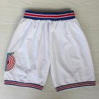 Retro Mesh Cool Shorts  Casual Sports Basketball Squad Shorts Fashion Short Pants white M