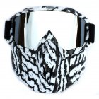 Retro Outdoor Cycling Snowboard Mask Goggles