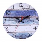 Retro Vintage Rustic Clocks Home Living Room Bar Decoration Self-provided AA Battery Style 3