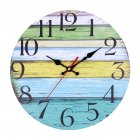 Retro Vintage Rustic Clocks Home Living Room Bar Decoration Self-provided AA Battery Style 2