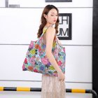 Reusable Foldable Shopping Bags Large Size Tote Bag with Handle 008_XL
