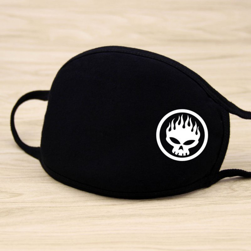 Riding Cotton Mask Dust-proof Facial Mouth Protection Fashion Men Women Black Mask KZ-2013