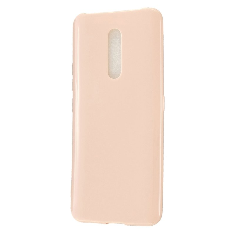For VIVO X27 / VIVO X27 Pro Cellphone Cover Anti-scratch Dust-proof Soft TPU Phone Protective Case  Sakura pink