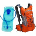 Riding Water Bag Backpack Bicycle 5L Sports Outdoor Riding Bag Cilmbing Travel Shoulders Bag New water bag + backpack orange
