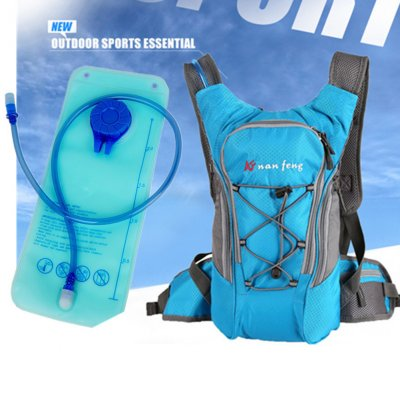 Riding Water Bag Backpack Bicycle 5L Sports Outdoor Riding Bag Cilmbing Travel Shoulders Bag New water bag + backpack blue