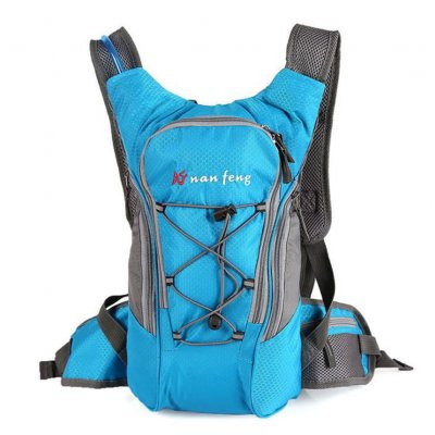 Riding Water Bag Backpack Bicycle 5l Sports Outdoor Cilmbing Travel Shoulders Single Blue