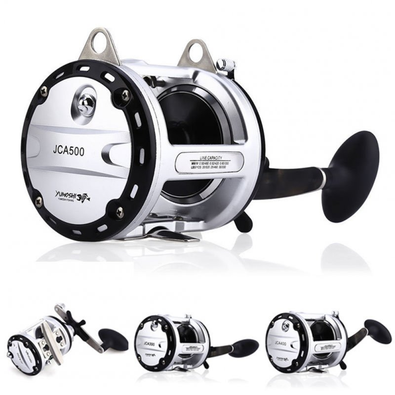 Right-handed Strong Metal 12+1BB Ball Bearings Drum Fishing Reel Bait Casting Wear-resisting Boat/Beach/Ocean Fishing Wheel Model 300