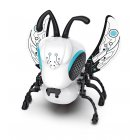 Robot Insect Cute DIY Sing and Crawling Parent-child Interactive Toys White