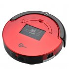 Robot Vacuum Cleaner has a LED Touch Screen  runs via 2 4GHz RF Wireless Control and has Auto Cleaning and Auto Charging feature plus it has a UV Lamp