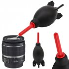 Rocket Air Blower Lens Cleaner SLR Camera Cleaning Tool Black red