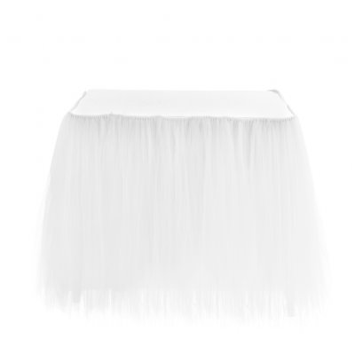 Romantic Wedding Decoration Table Skirts Red