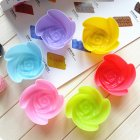 Rose Design Baking Mini Muffin Cups Mold