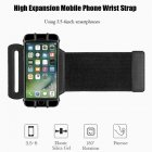 Rotatable Phone Arm Bag Running Waterproof Armband Sport Wrist Bag Case Belt Key Holder Pouch for Samsung iPhone 8 X 4 6 Inch
