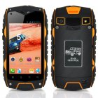 Rugged 4 Inch Android 4 2 Phone is Waterproof  Shockproof  Dust Proof as well as having a MTK6572 Dual Core CPU and a 2500mAh Battery Capacity