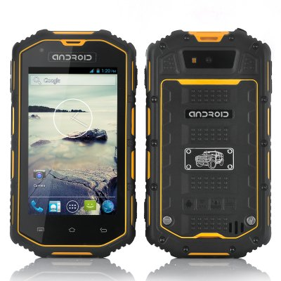Rugged Android Dual Core Phone (Yellow)