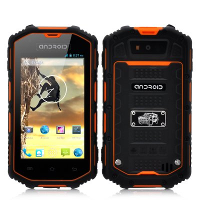 Rugged Android Phone (Orange)