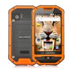 Rugged Android Phone that has a 1GHz CPU and is also IP 53 Water Resistant  Dustproof and Shockproof is a sturdy 4 inch screen device