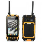 Rugged Android Phone with GPS  Walkie Talkie  Laser Light  Compass and more