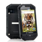 Rugged Android Phone with large 4 Inch Screen  1GHz Processor  IP 53 Dustproof  Water Resistant and Shockproof housing   This rugged phone can take it on