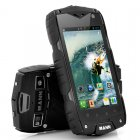 Rugged  Android Phone with a clear 4 inch screen and a 1 15GHz Dual Core Snapdragon CPU is  Waterproof with a IP68 rating