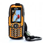 Rugged GSM Phone has an IP67 Waterproof and Dust Proof Rating as well as being Shockproof