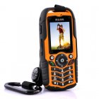 Rugged Mobile Phone with waterproof  dust proof and shockproof housing  number pad and 2 megapixel camera