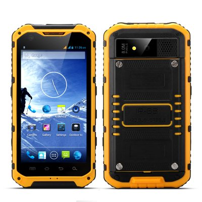 Android Quad Core Rugged Phone - Ox (Yellow)