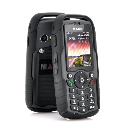 MANN ZUG 1 Ruggedized IP67 Cell Phone (B)