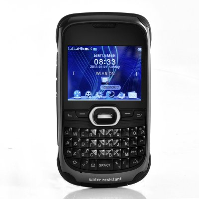 Rugged Waterproof Qwerty Phone Anium