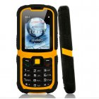 Rugged and Waterproof Mens Mobile Cellphone with a 2 2 Inch Display