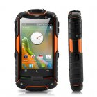 Rugged dual core android 4 0 phone with 3 2 inch screen  waterproof  and shock proof   Take this rugged phone with you when hiking  on the construction site