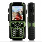 Rugged mobile phone with GPS  compass  and walkie talkie for outdoor use