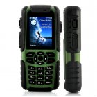 Rugged outdoor mobile phone  almost indestructible with waterproof  dustproof  and shockproof design  and with many useful features such as a GPS