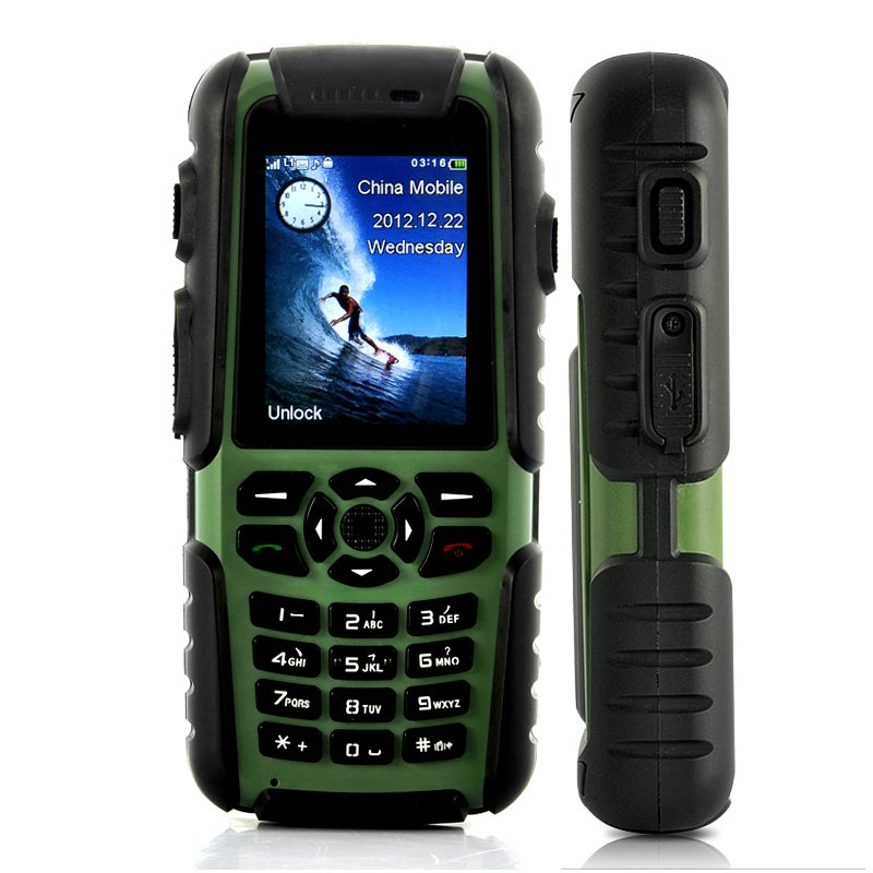Rugged GPS + Walkie Talkie Phone - Vigis