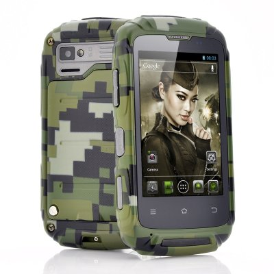 Ruggedized 3.5 Inch Android Phone -Lieutenant