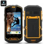 Runbo Q5 S Rugged Smartphone with 4 5 Inch Gorilla Glass protected Screen  IP67  Quad Core CPU  1GB RAM  8GB of Memory  Walkie Talkie  and dual SIM slots