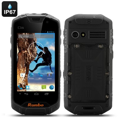 Runbo Q5S Rugged Smartphone 8GB (Black)