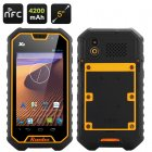 Runbo X6 Rugged 3G Smartphone with IP67 rating a Quad Core CPU  2GB of RAM  5 inch 1080P Screen that s shield by Gorilla Glass II and Walkie Talkie functions