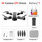 S105  Pro Drone 4k Gps Profissional Hd Dual  Cameras Optical Flow  Positioning 5g Wifi Brushless Gps Drones Foldable Quadcopter Toy 1 battery
