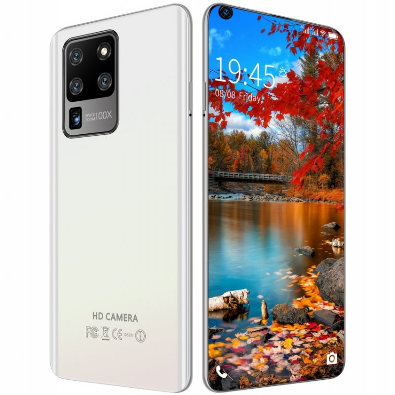 S30U Plus 6.82 inch 2GB RAM 16GB ROM Large-screen Mobile Phone white_European plug