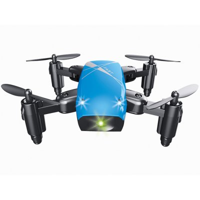 S9 Mini Folding UAV 4-Axis Aircraft Blue