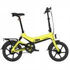 SAMEBIKE G7186 Electric Bicycle Foldable Bike Variable Speed City E bike 250W Motor 16inch Wheels 7 5Ah Battery Max 25Km h  yellow