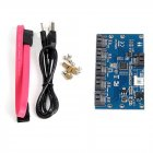SATA 1 to 5 Hard Disk Adapter Card Motherboard Port Multiplier SATA Support SSA3.0 Expansion Card
