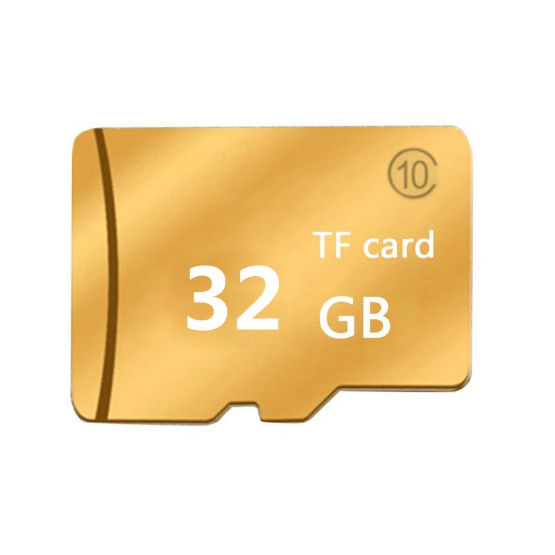 SD Card Memory Card 16GB-128GB Golden Micro SD Neutral High Speed SDHC