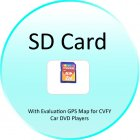 SD Card with Evaluation GPS Software for CVFY Car DVD Players