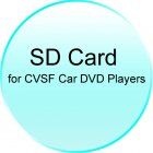 SD Card with Evaluation GPS Software for CVSF Car DVD Players