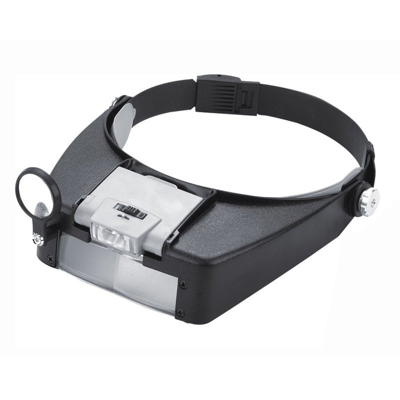 [US Direct] SE MH1047L Illuminated Multipower LED Binohead Magnifier