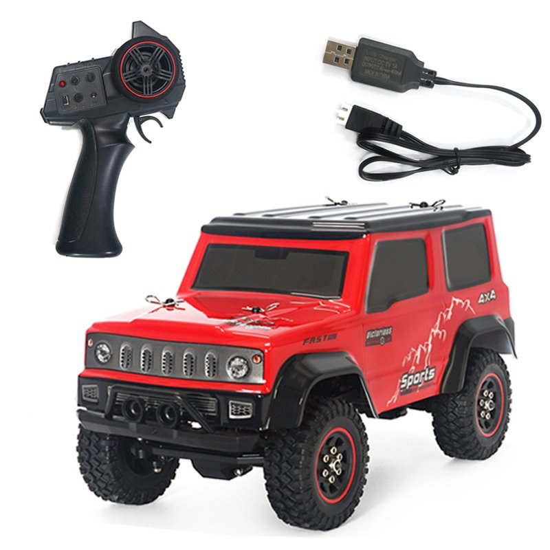 SG-1801 1:18 2.4G Climbing Car Low Voltage Protection Remote Control Model Car Toy 20KM/H red